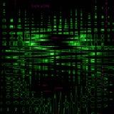Matrix-Code Lizenzfreies Stockbild