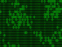 Matrix code backgrounds Stock Images