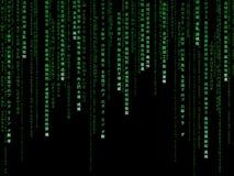 Matrix code Royalty Free Stock Photos