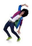 Matrix dancer Royalty Free Stock Photos