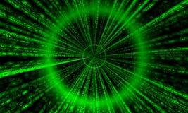 Matrix-Gefäß (übertragen Sie) Stockfotos