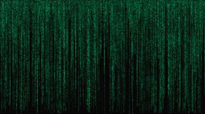 Matrix with Green Symbols Background Royalty Free Stock Images
