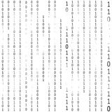Matrix Hacker Background. Vector Royalty Free Stock Image