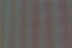 Matrix of lcd screen macro shot Stock Images