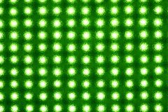 Matrix of light-emitting diodes. Matrix of LEDs behind a textured plastic disc stock images