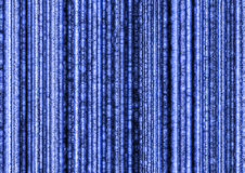 Matrix like. Abstract blue background in the matrix way Royalty Free Stock Image
