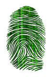 Matrix like finger print Stock Photos