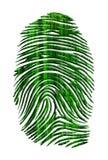 Matrix like finger print Stock Photos