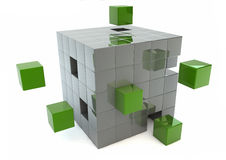 Matrix render Royalty Free Stock Photo