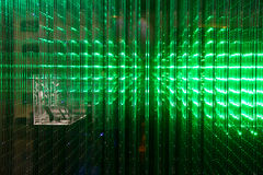 Matrix of a Screen made of multiple LEDs Stock Photo