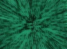 Matrix style background Stock Images