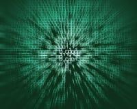 Matrix style background Stock Photography