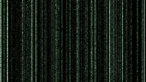 Green binary code on black background. Matrix style background for various print,design,advertisement and for promotional purposes. Binary computer code - Matrix royalty free stock photography