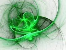 Matrix style fractal stream of energy Stock Images
