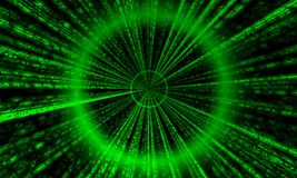Matrix Tube (Render) Stock Photos