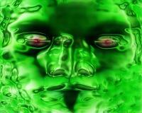 matrix twarzy Zdjęcia Stock