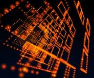 Matrix universe background Stock Photography