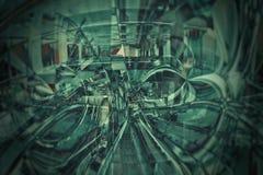 Matrix vision stock photo
