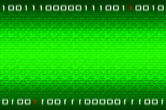Matrixbinärzahlhintergrund lizenzfreie stockfotos