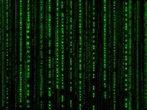 Matrixhintergrund Lizenzfreies Stockfoto