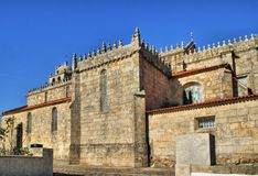 Matriz church of Vila do Conde Royalty Free Stock Photos