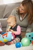 Matriz com bebé fotos de stock