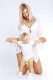 Matriz com bebê Imagens de Stock Royalty Free