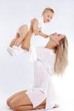 Matriz com bebê Imagem de Stock