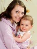 Matriz com bebê Fotos de Stock Royalty Free
