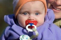 Matriz com bebê Fotografia de Stock