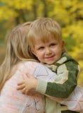Matriz com a criança Imagem de Stock Royalty Free