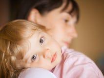 Matriz com criança Fotografia de Stock