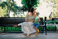 Matriz com a criança Fotos de Stock Royalty Free