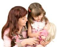 Matriz com filha foto de stock royalty free
