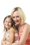 Matriz com filha Imagens de Stock
