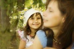 Matriz com filha fotografia de stock royalty free