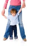 Matriz com filho Imagem de Stock Royalty Free