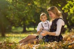 Matriz com filho Foto de Stock