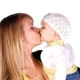 Matriz com seu bebé Fotos de Stock Royalty Free