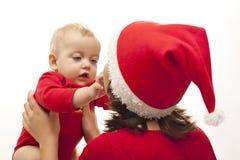 Matriz com sua filha Imagens de Stock Royalty Free