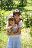Matriz com uma filha Fotos de Stock Royalty Free