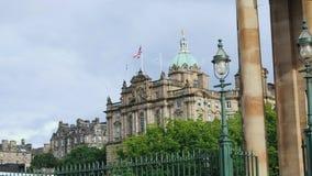 Matriz de Lloyds Banking Group, Edimburgo video estoque