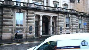 Matriz de Lloyds Banking Group, Escócia video estoque