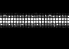 Matriz de ponto ilustração do vetor