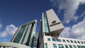 Matriz de Sberbank em Moscou, Rússia Matriz central vídeos de arquivo