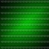 A matriz do fundo dos números Imagens de Stock
