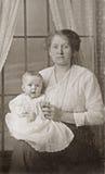 Matriz e bebé Fotografia de Stock