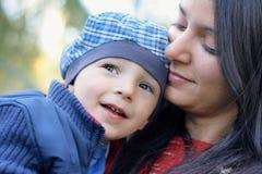 Matriz e bebé Imagem de Stock Royalty Free