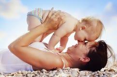 Matriz e bebê imagens de stock