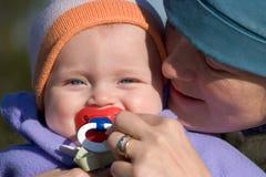 Matriz e bebê Imagem de Stock